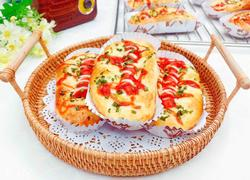 香葱肠仔面包