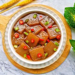 紅燒魔芋豆腐的做法[圖]