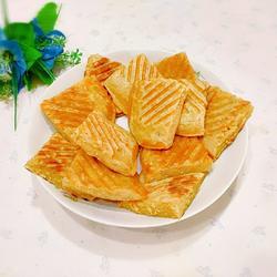 燕麥片奶香煎餅的做法[圖]