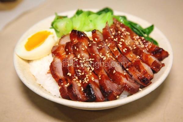 广式蜜汁叉烧肉(空气炸锅版)