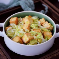 白菜豆腐的做法[图]