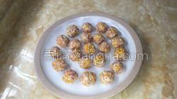 南瓜杏鲍菇肉丸子的做法图解6