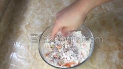 时蔬虾饼的做法图解4