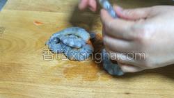 黑胡椒鲜虾炒面的做法图解2