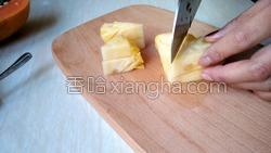 木瓜菠萝汁的做法图解2