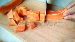 木瓜菠萝汁的做法图解5