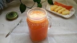 木瓜菠萝汁的做法图解12