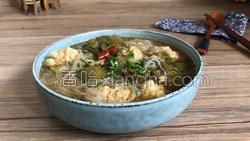 酸菜粉丝肉丸汤的做法图解19