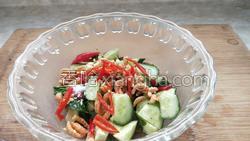 金钩海米拌黄瓜的做法图解10