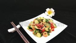 金钩海米拌黄瓜的做法图解14