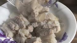 茶树菇烧肉的做法图解6