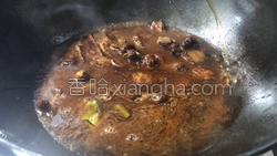 茶树菇烧肉的做法图解12