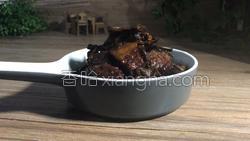 茶树菇烧肉的做法图解16