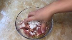 桂花嫩子排的做法图解3