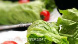 紫菜炒肉的做法图解9