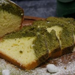 拼色抹茶磅蛋糕