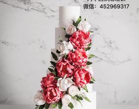 课堂作品婚礼蛋糕[图]