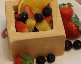早餐??手撕面包+酸奶+水果[图]