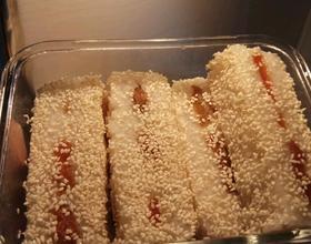 红豆糯米凉糕[图]