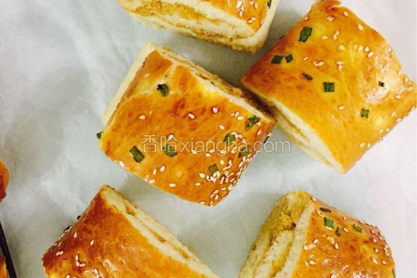 肉松面包卷(4个)