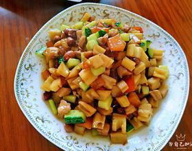 炒三丁 白菜炖豆腐[图]