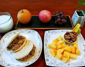 早饭前与后[图]
