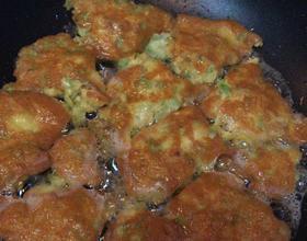 鸡蛋苦瓜饼➰晚餐[图]