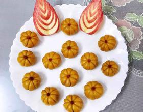 蔓越莓核桃馅的可爱小南瓜[图]
