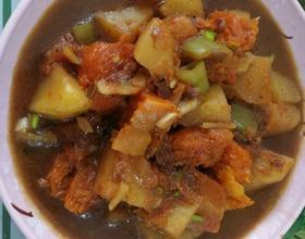 南瓜炖土豆[图]