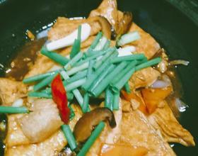 香燜豆腐煲,粉葛老鴨湯,白焯水東芥[圖]