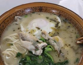 雪菜黃魚面[圖]