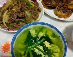 晚餐做的黑椒牛柳,味道不錯[圖]