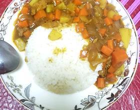 咖喱猪肉饭[图]