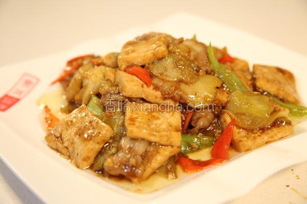 豆腐焖茄子