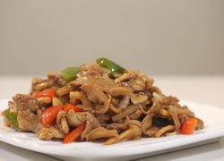 肉片烧蘑菇