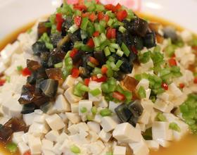 皮蛋豆腐[图]