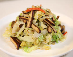 香干炒圆白菜