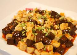 麻辣双色豆腐
