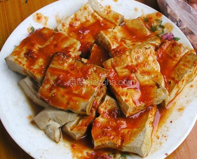 孔府熏豆腐