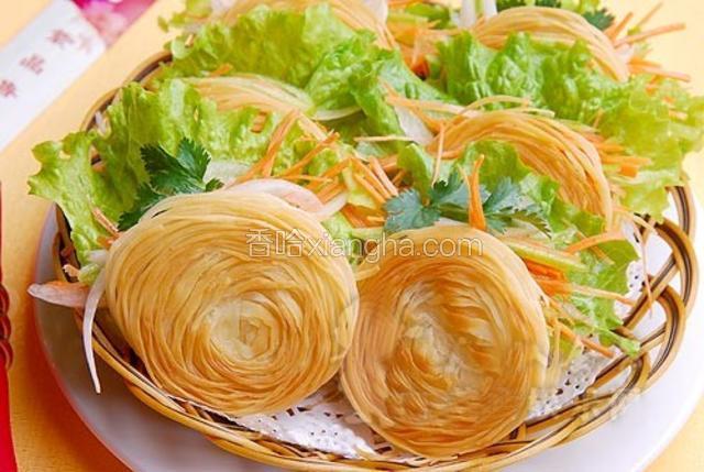 清油盘丝饼