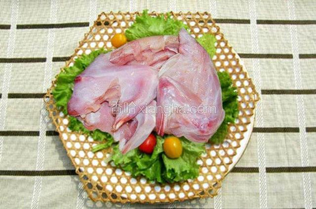 塞上冻兔肉