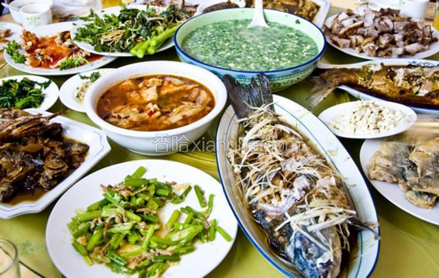 清河全鱼宴