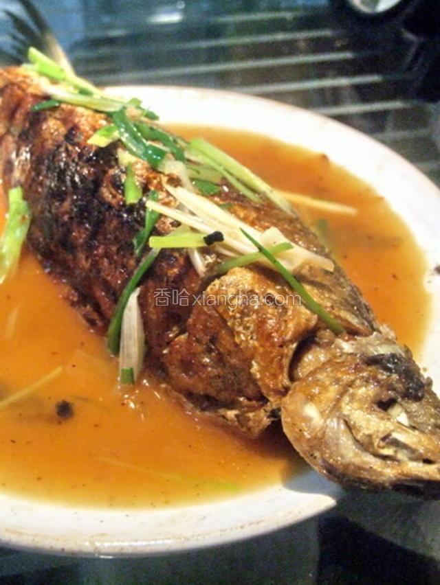 马蹄酿全鱼