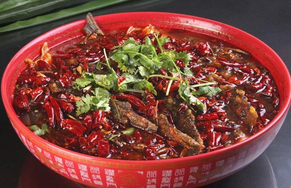 红锅黄辣丁