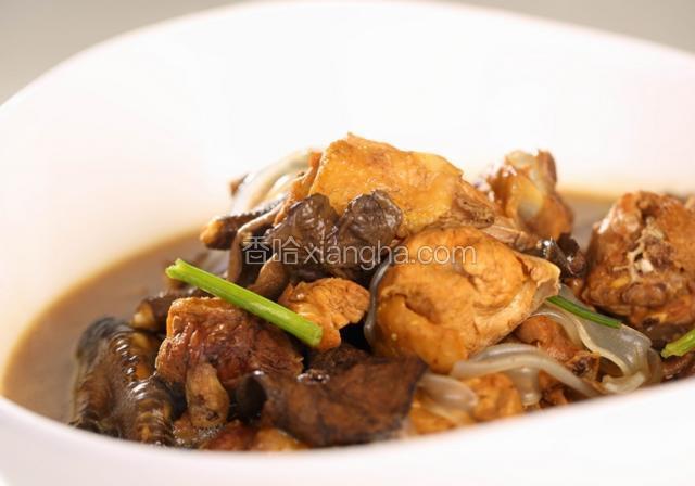 崂山菇炖鸡