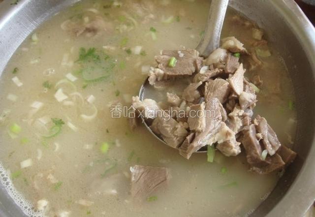 盐窝全羊汤