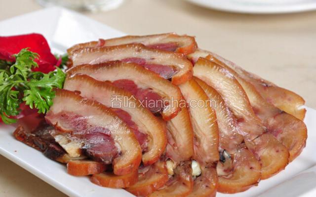 普米族猪头肉
