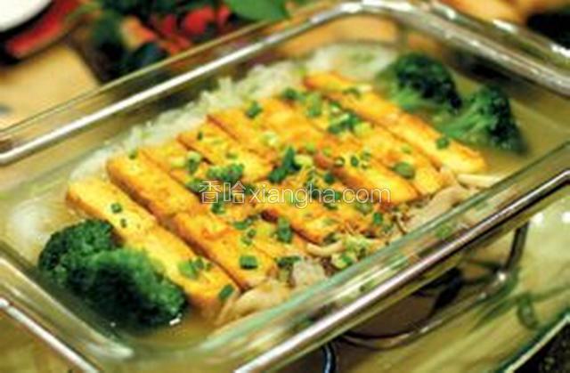 锅烙豆腐珧柱
