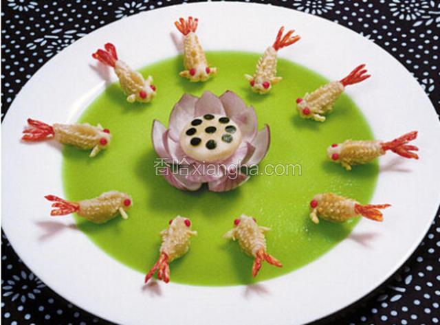 明虾金鱼酥