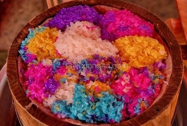 布依族五色花米饭